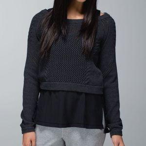 Lululemon Be Present Pullover size 4